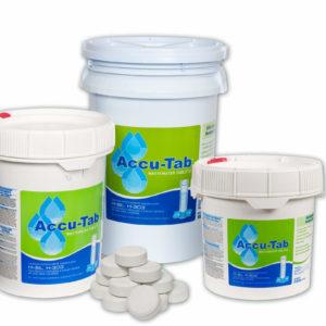 Accu-Tab chlorine tab pails for septic tank maintenance
