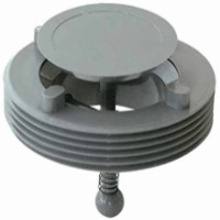 Sewer relief valve for septic systems